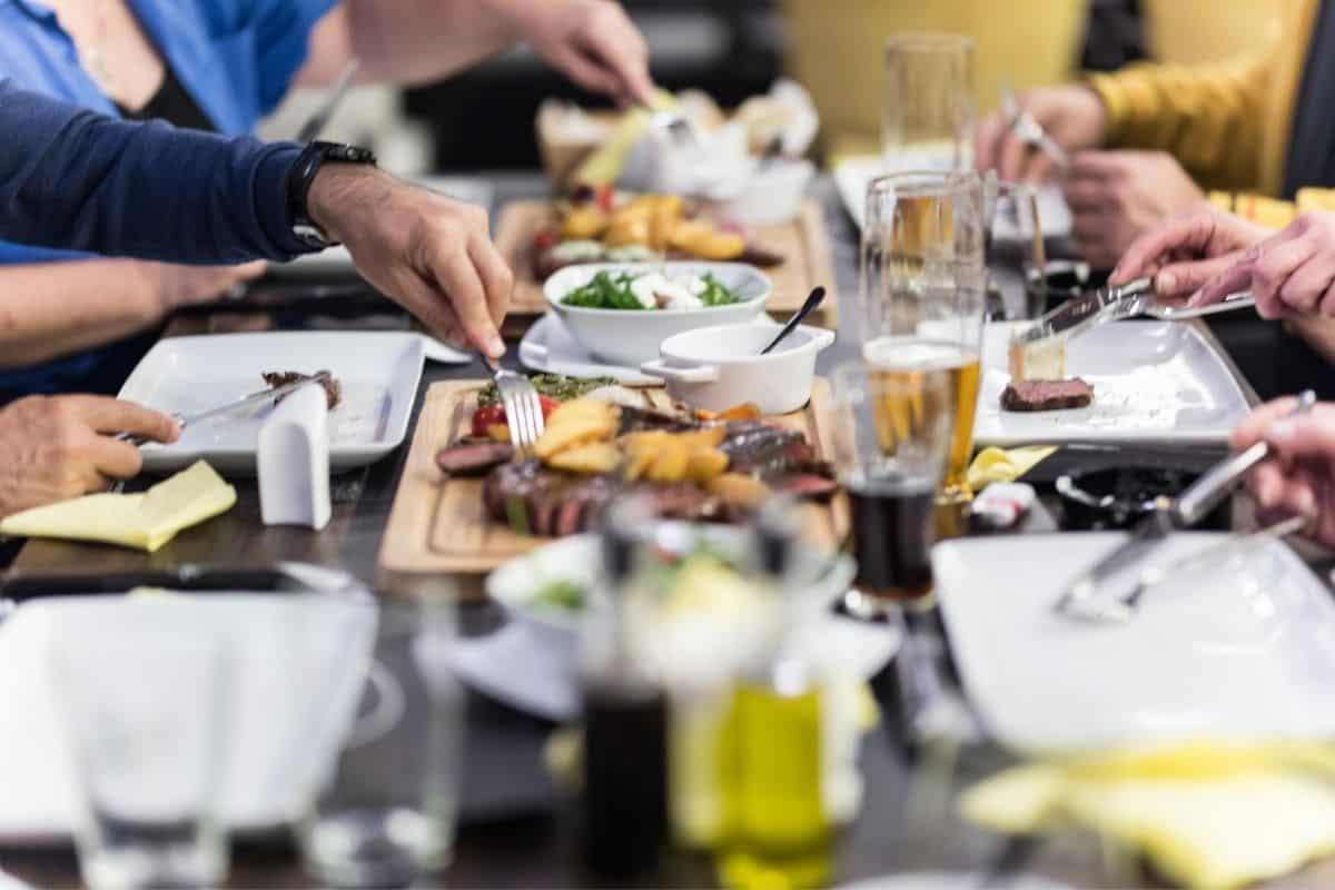 Dinner in Europe