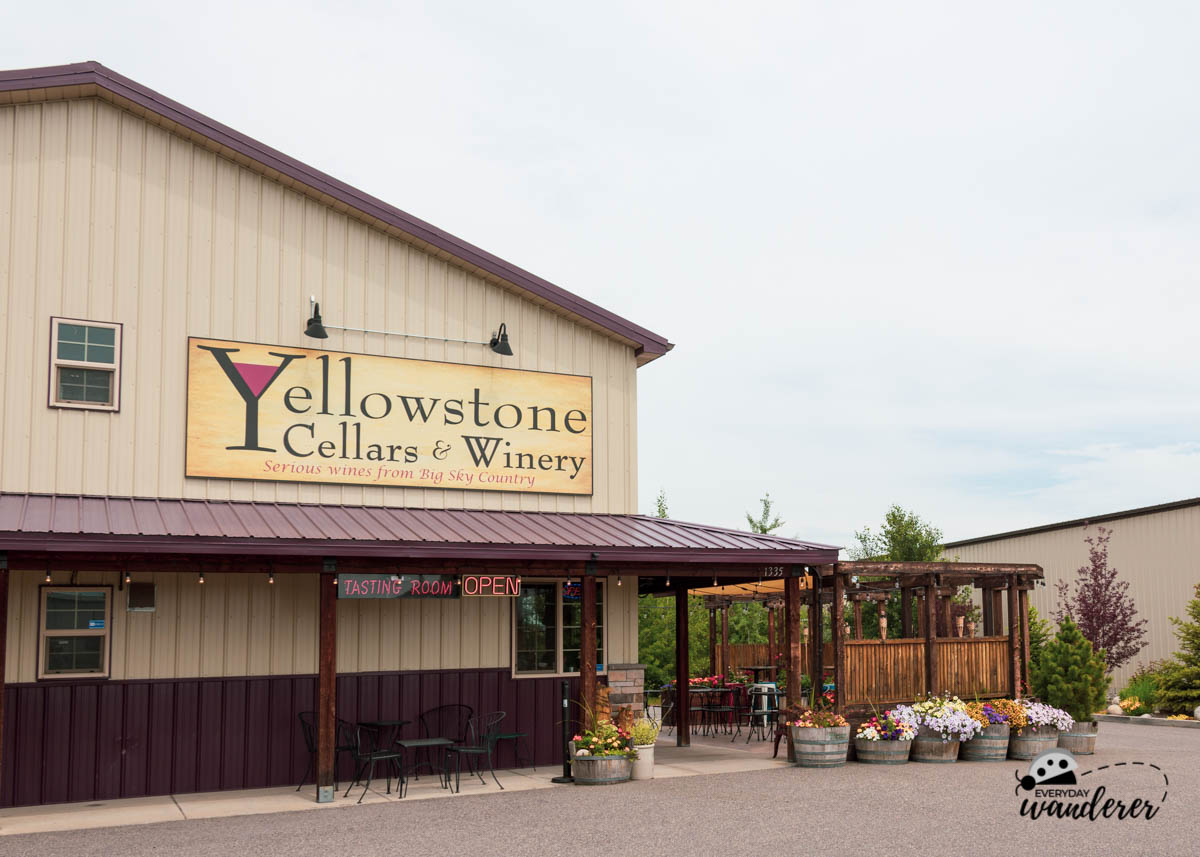 Yellowstone Cellars and Winery Tasting Room in Billings MT