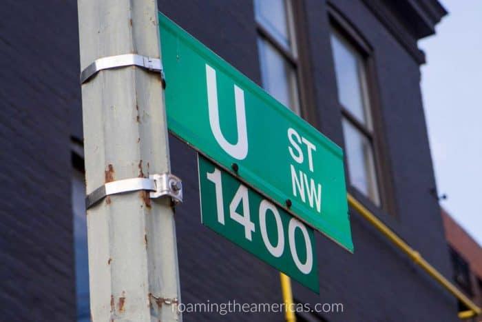 Visit DC's U Street Neighborhood to learn about black history.