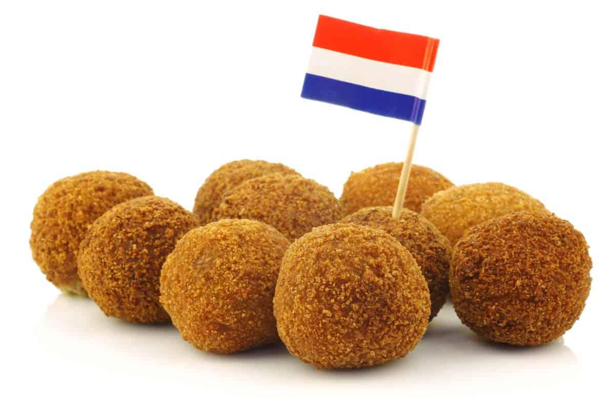 Bitterballen are one of my favorite Dutch foods.