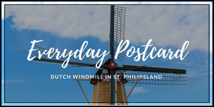 Dutch Windmill in St. Philipsland