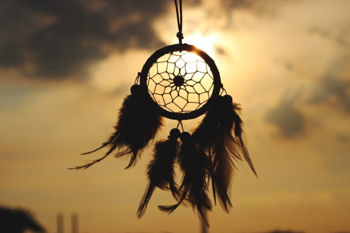 Native Americans believe in a sleep talisman called a dream catcher.