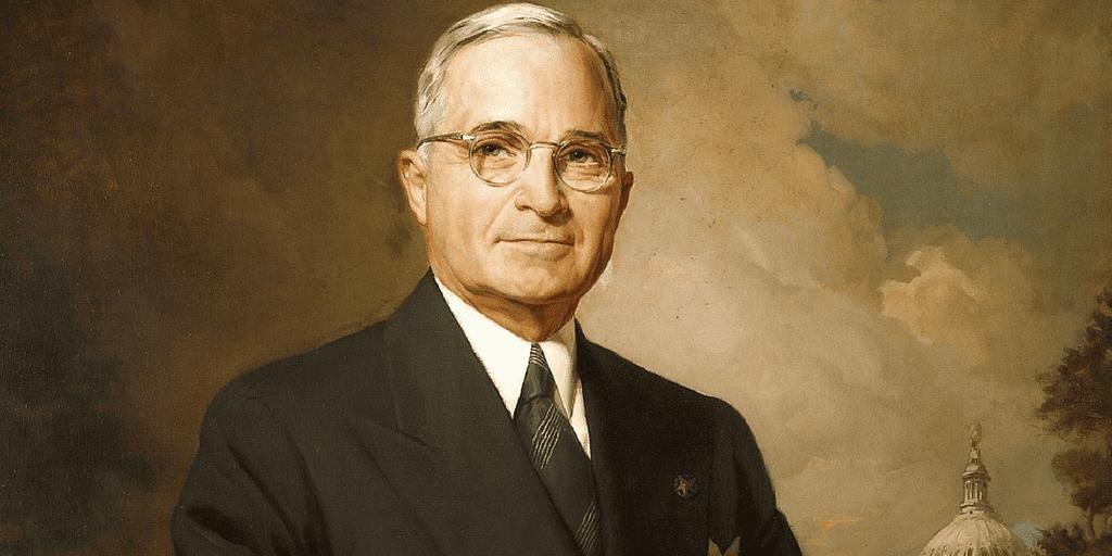 1948 Harry Truman California Democratic State Committee Postcard