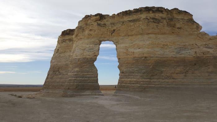 Don't miss Monument Rocks when you visit Kansas.
