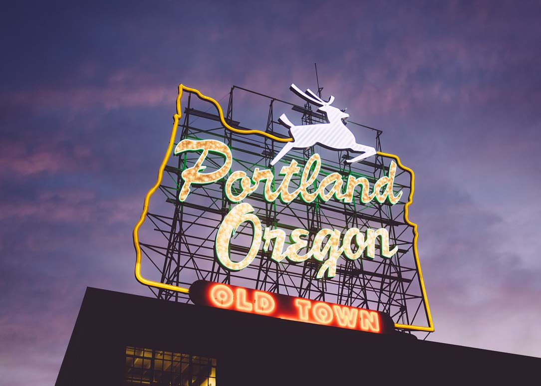 Visit Portland, Oregon, one of the up and coming US travel destinations for 2019.