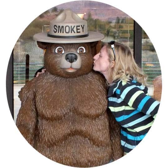 Sage Scott the Everyday Wanderer and Smokey Bear