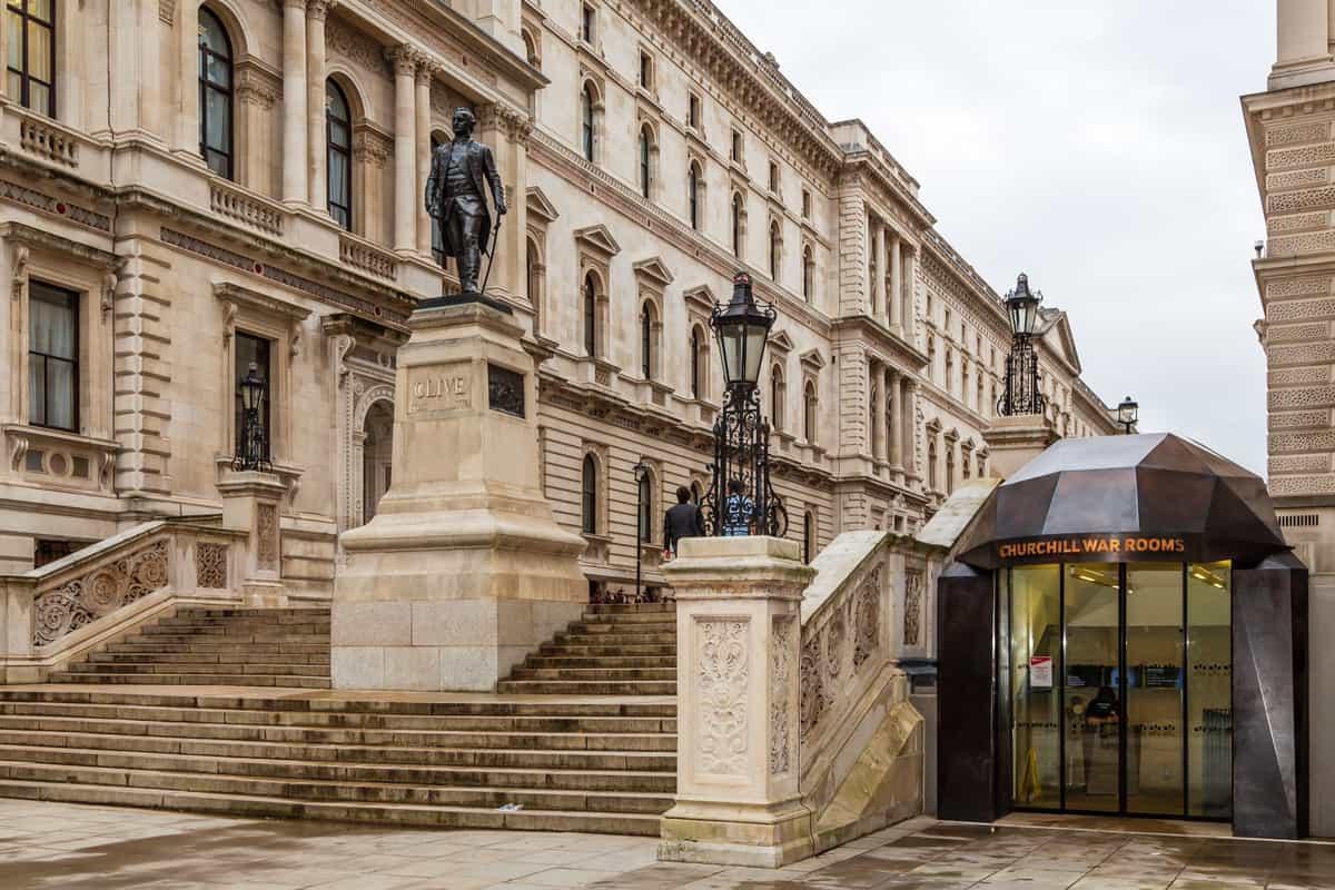 Churchill War Rooms in London England