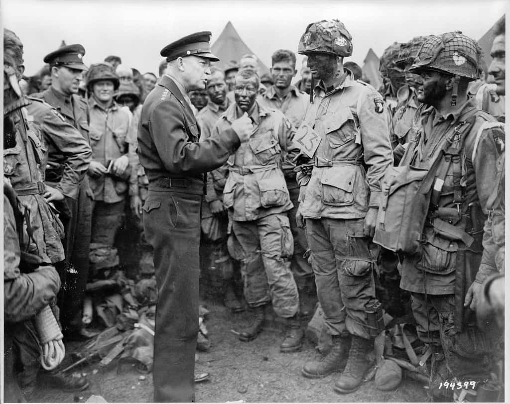 Dwight D Eisenhower Before D-Day