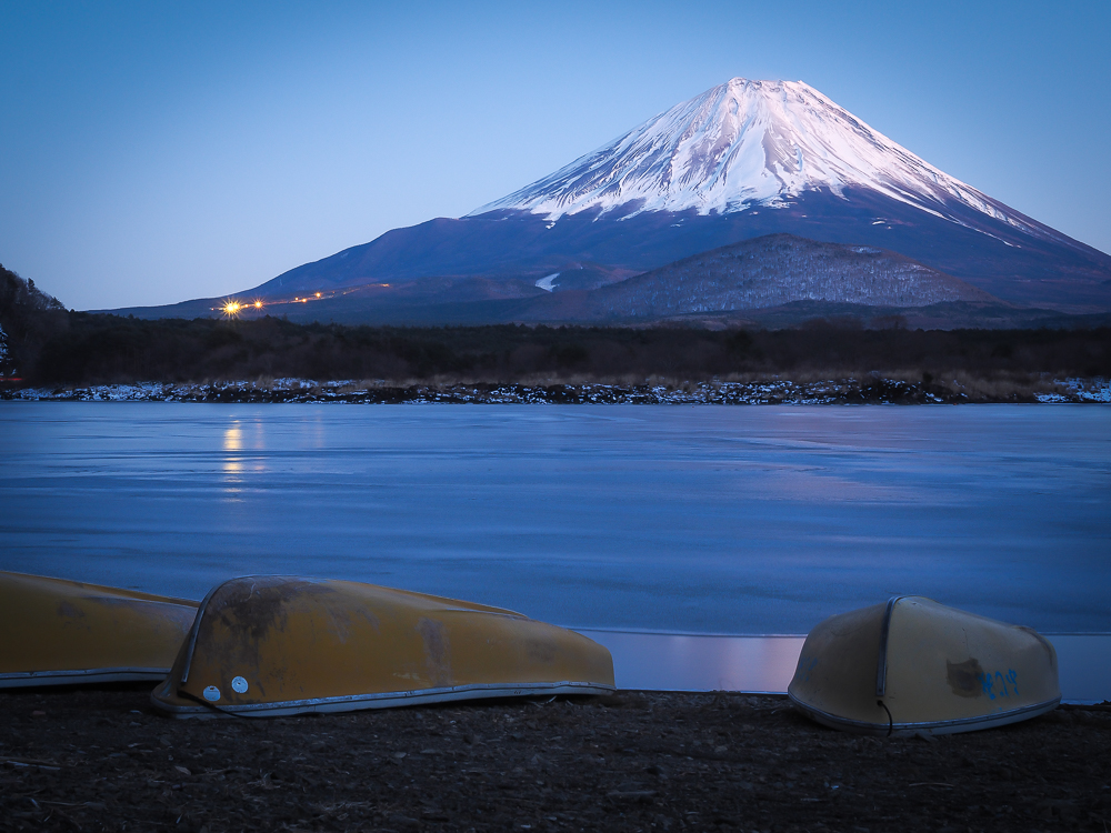 Everyday Postcards from destinations in Asia like Japan's Mount Fuji