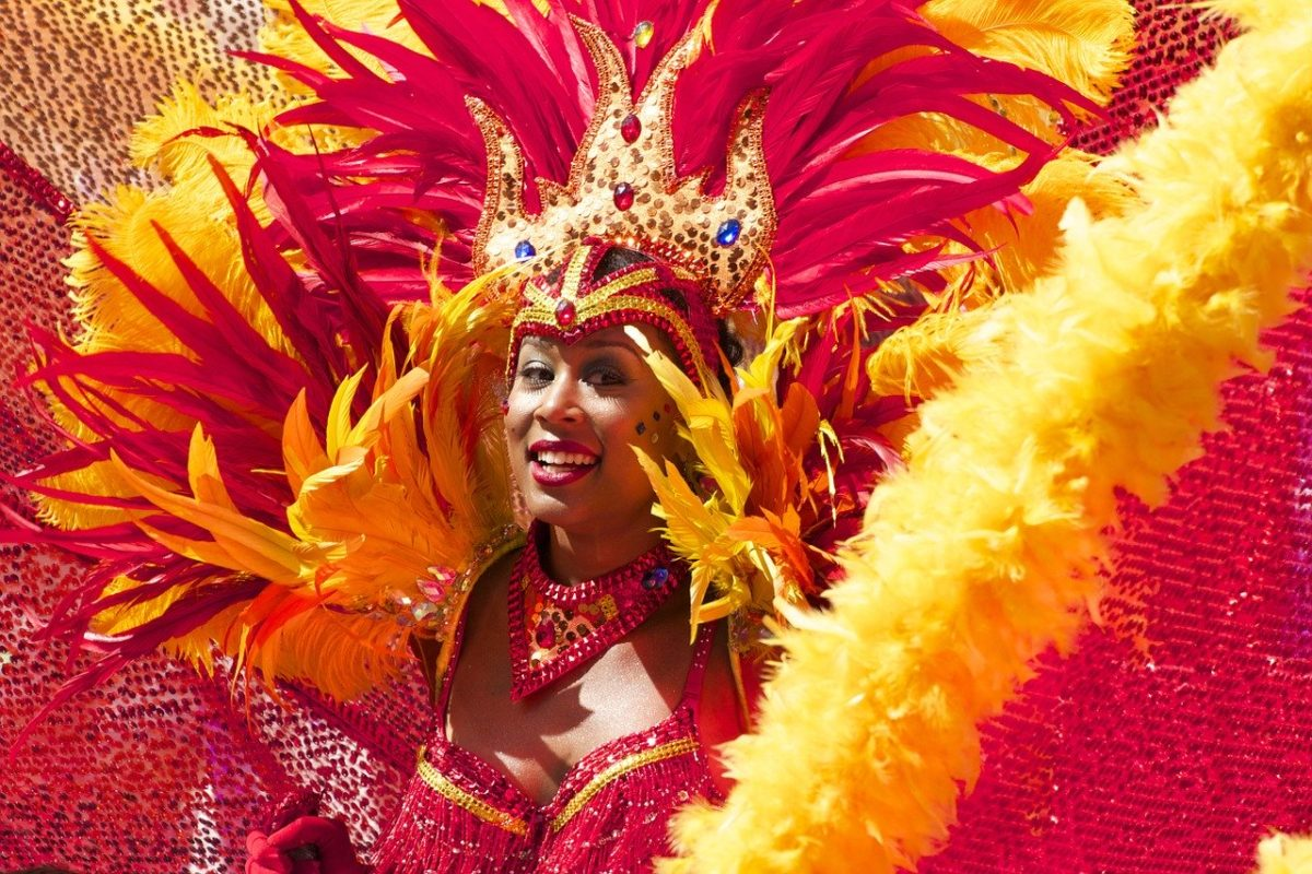 Mardi Gras is celebrated in Rio de Janeiro, Brazil.