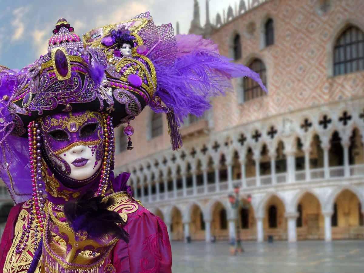 In Venice, the Mardi Gras season is called Carnival.