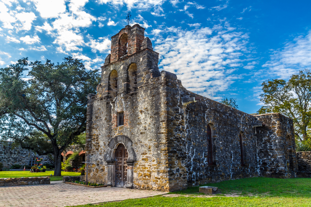 Mission Espada in San Antonio TX