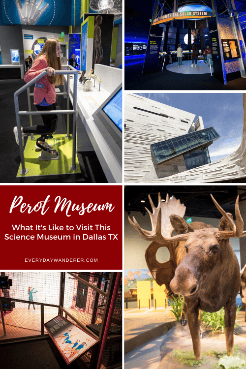 What to expect when you visit the Perot Museum Dallas. This science museum in Dallas Texas is educational and interactive and one of the best things to do with kids in Dallas. Add the Perot Science Museum to your Texas bucket list and go as part of your Texas road trip or Texas vacation. #dallas #texas #us #usa #travel