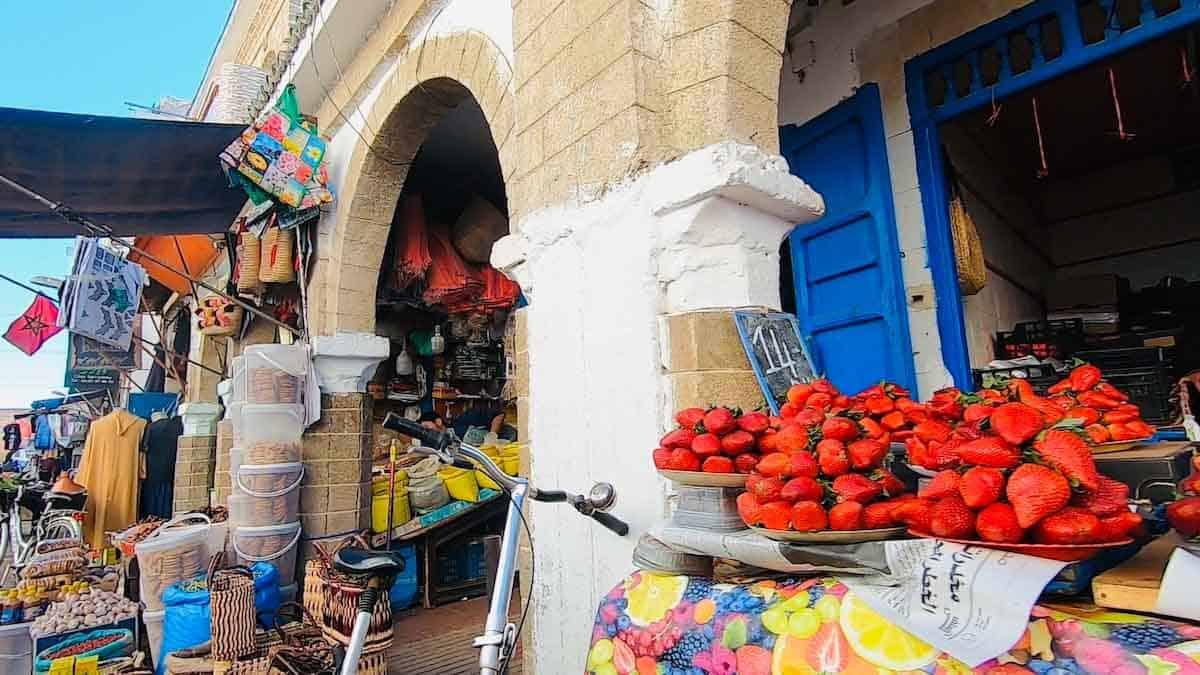 Medina in Essaouira Morocco