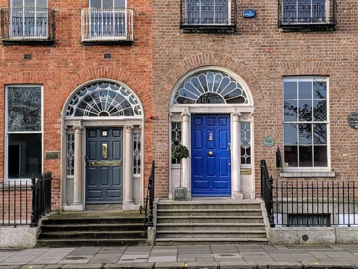 Dublin Ireland has beautiful Georgian doors.