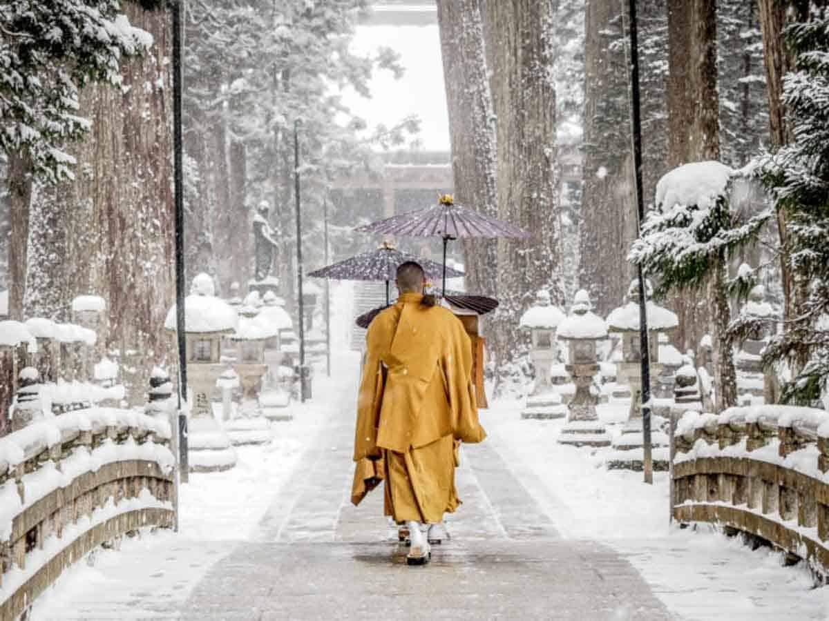 Okunoin Cemetery in Japan - Photo by Nick Kembel