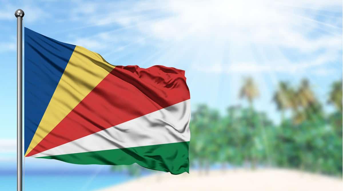 Seychelles has a sun flag.