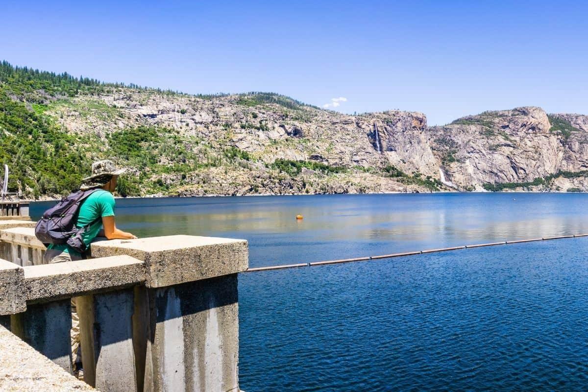 Cool clear water of Hetch Hetchy Reservoir