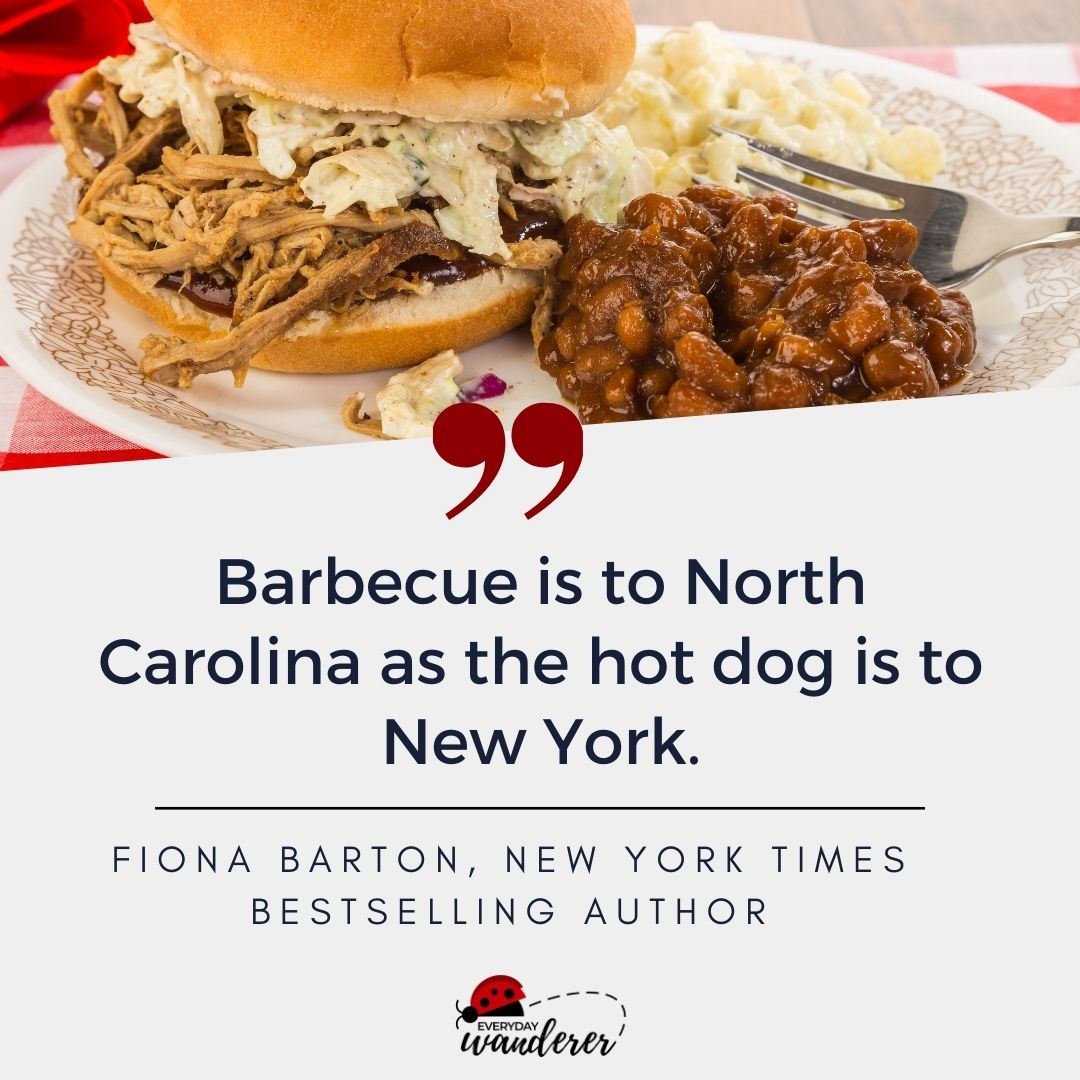 North Carolina Barbecue Quote by Fiona Barton