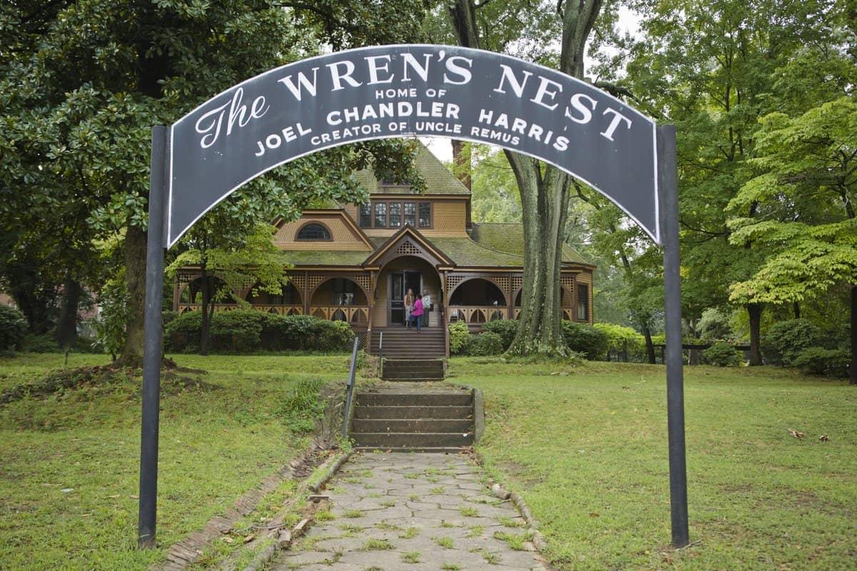 The Wrens Nest - Joel Chandler Harris Home in Atlanta GA