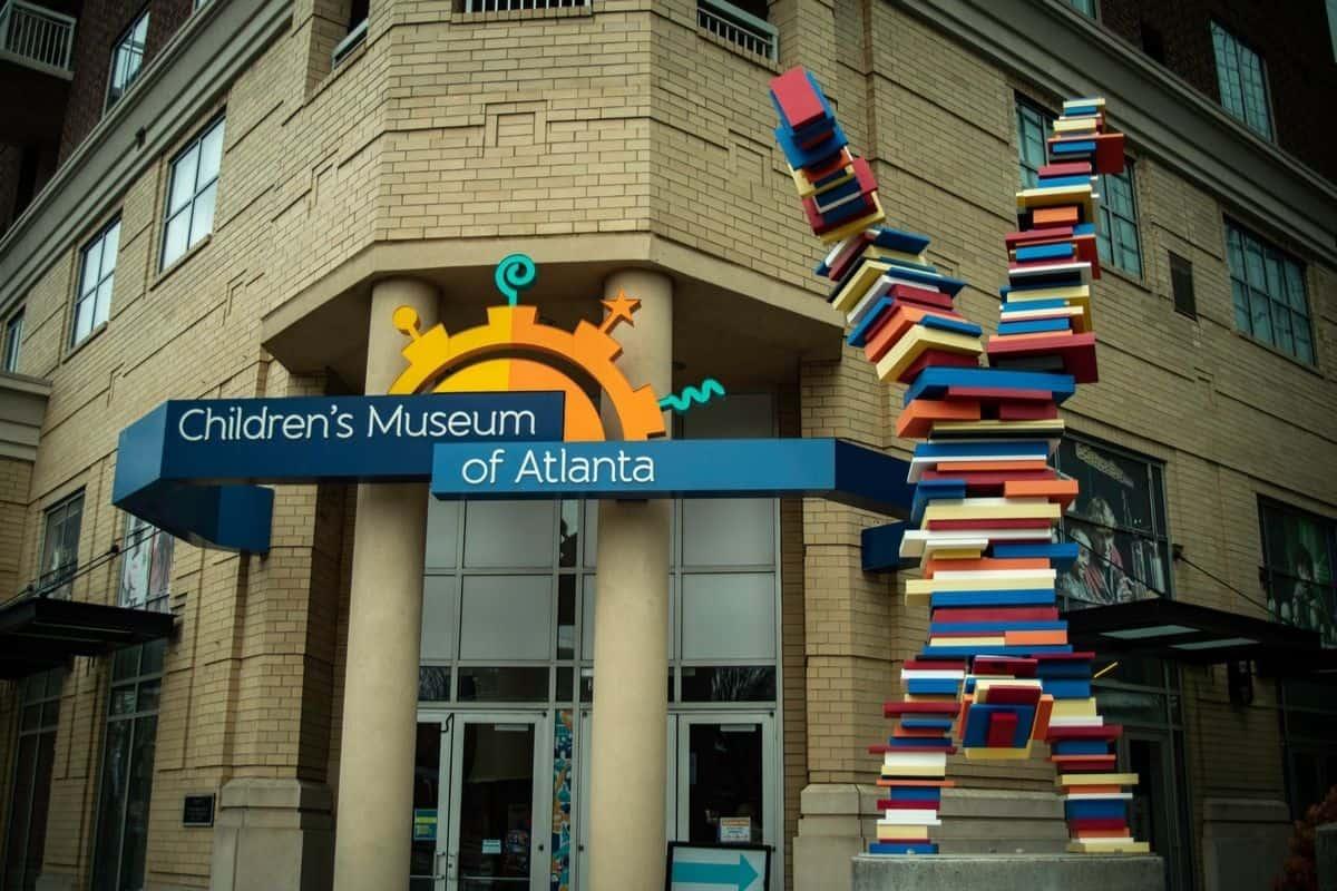 The exterior of the Children's Museum of Atlanta