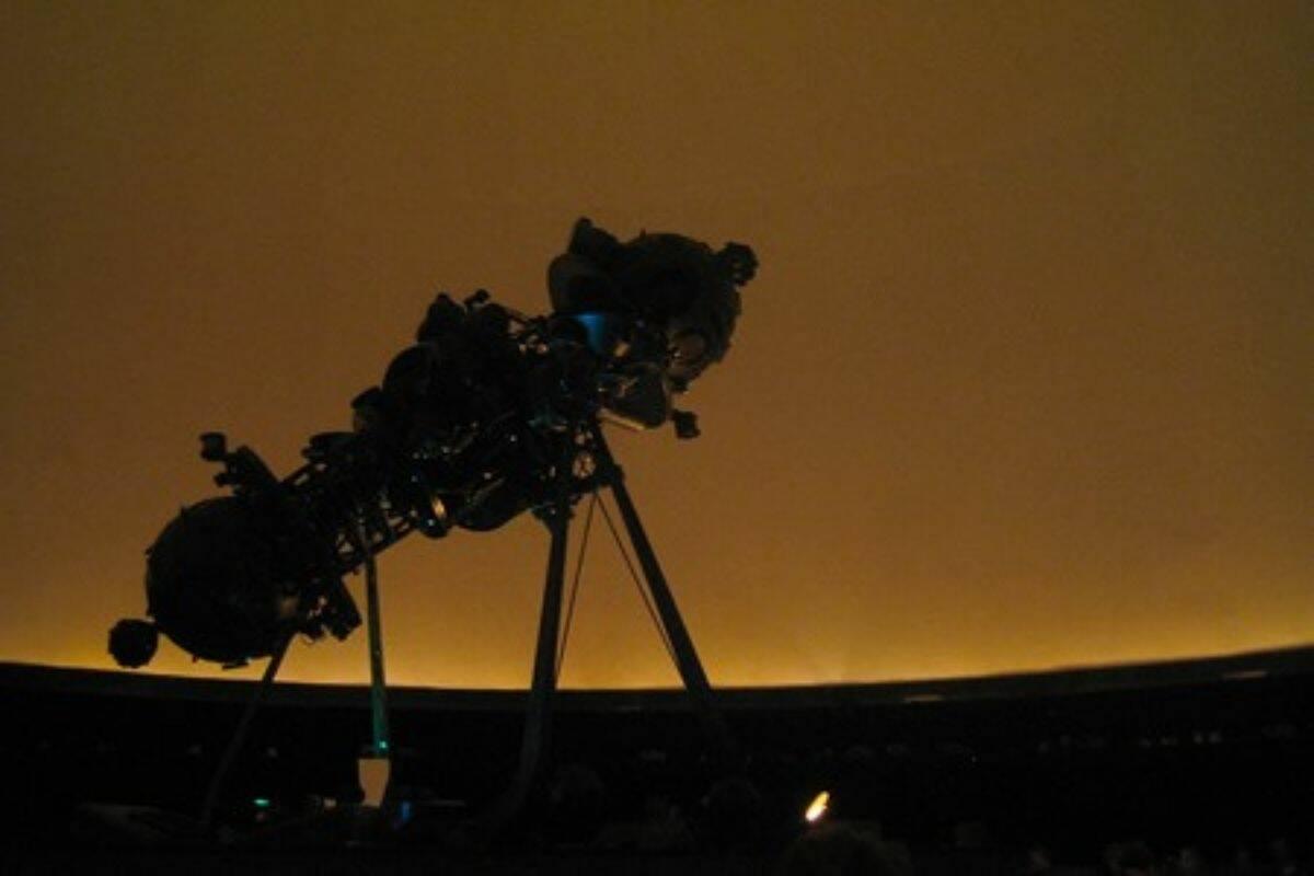 Telescope at the Fernbank Science Center in Atlanta, GA