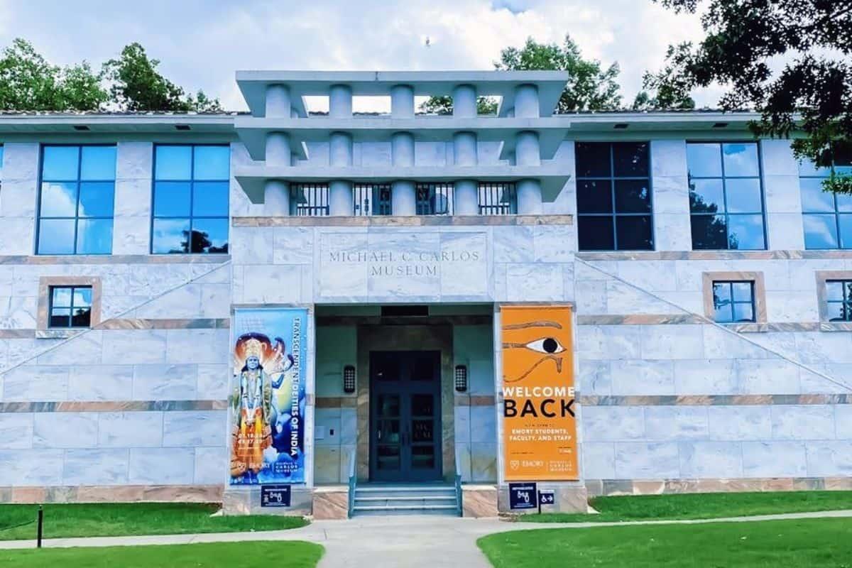 Exterior of the Michael C. Carlos Museum in Atlanta