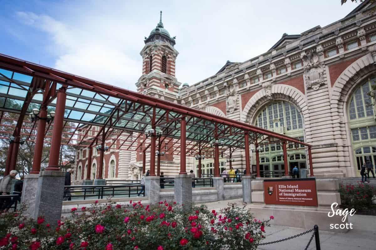 Museum of Immigration on Ellis Island
