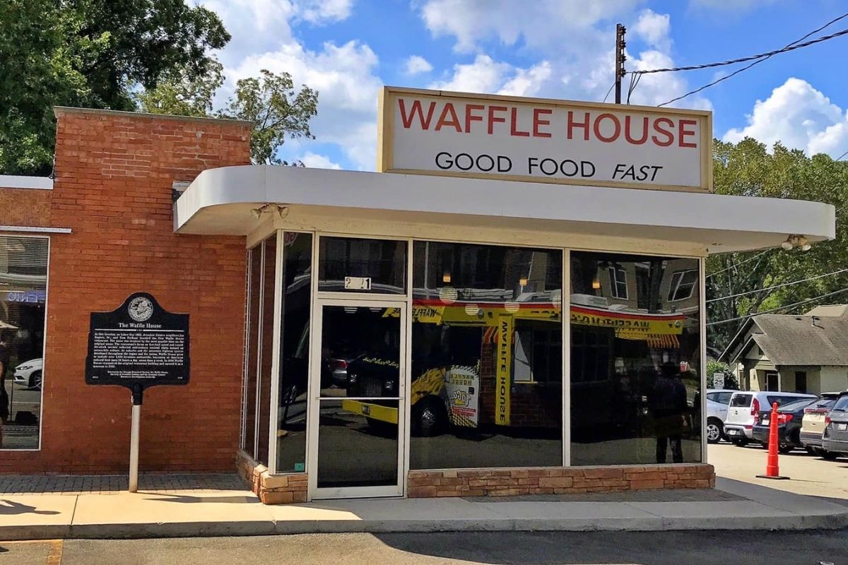 The original Waffle House location in Atlanta is now a museum