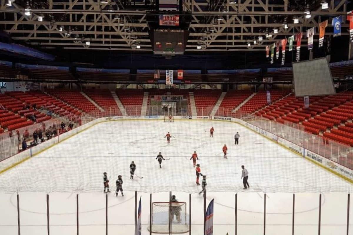 Herb Brooks Arena in Lake Placid, NY