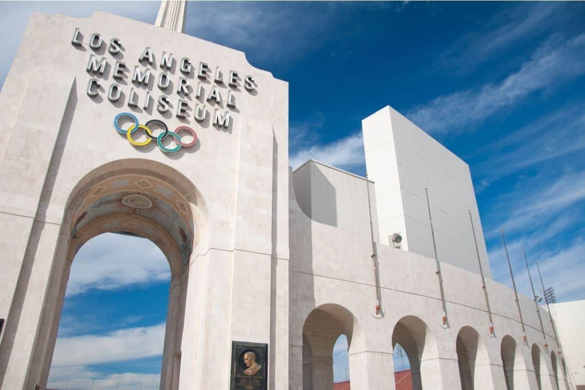 Memorial Coliseum in LA