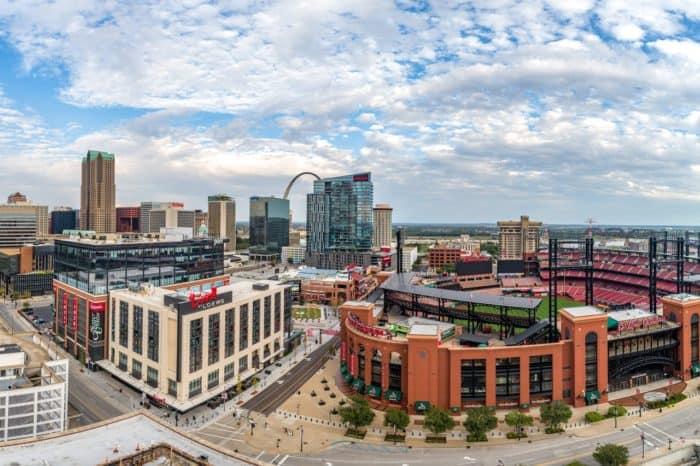 Downtown St. Louis, Missouri - Photo by Explore St. Louis