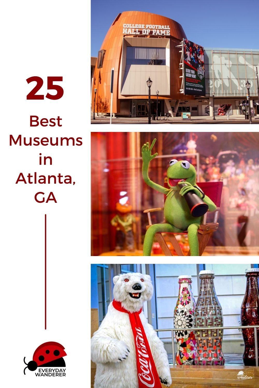 Best Atlanta Museums - Pin 10 - JPG