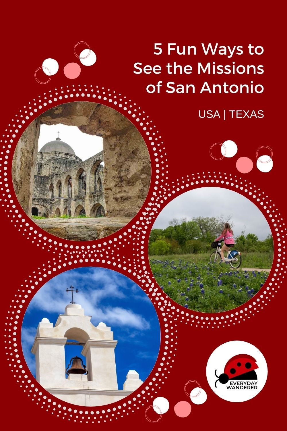 How to Visit San Antonio Missions - Pin 3 - JPG