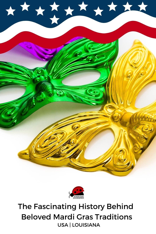 Mardi Gras Traditions - Pin 1 - JPG