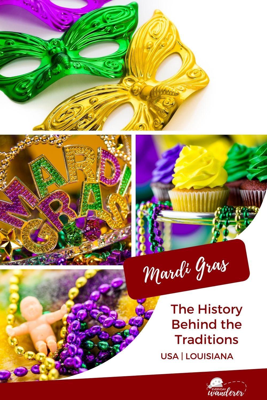 Mardi Gras Traditions - Pin 3 - JPG