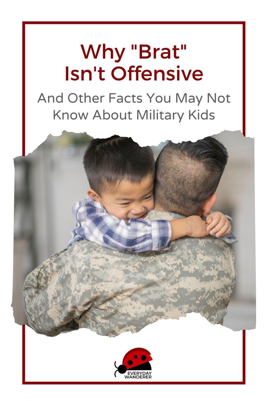 Military Brat Facts - Pin 2 - JPG
