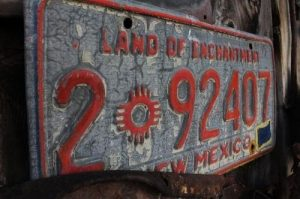 New Mexico License Plate Thumbnail