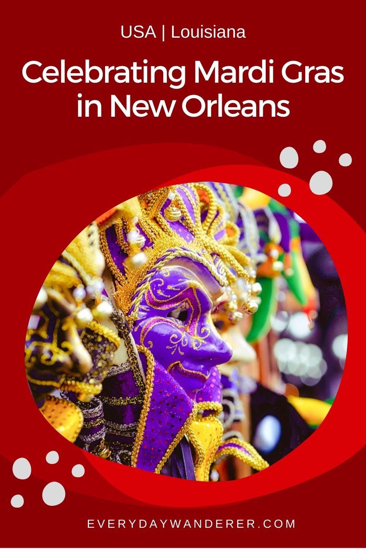 New Orleans Mardi Gras - Pin 1 - JPG