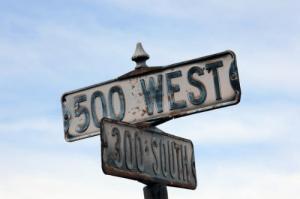Salt Lake City Street Addresses Thumbnail