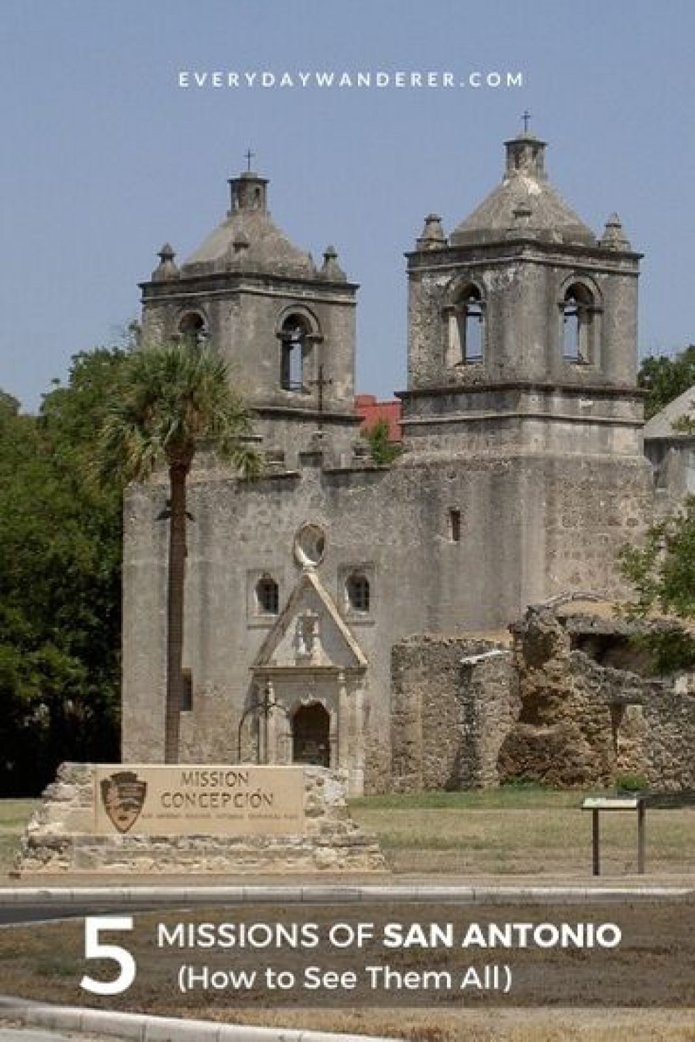 How to see all five San Antonio Missions in San Antonio Texas. In addition to the Alamo, there are four other San Antonio Texas missions in the San Antonio Missions National Park. Bike the San Antonio Missions Trail as a San Antonio things to do on your Texas vacation. #sanantonio #texas #US #USA #travel
