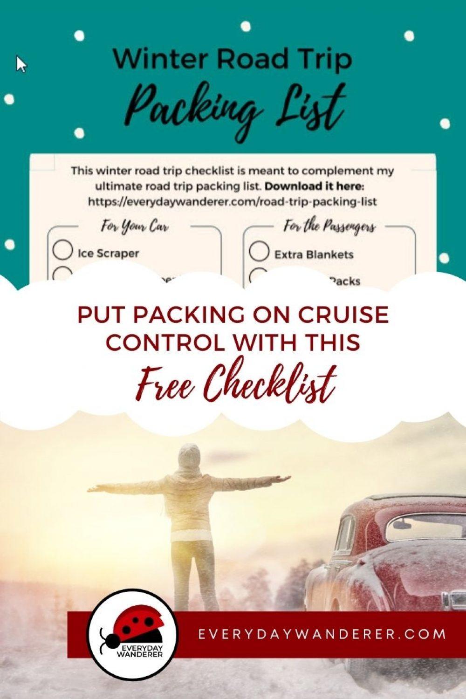 Winter Road Trip Checklist - Pin 2 - JPG