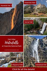 Yosemite Waterfalls - Pin 2 - JPG